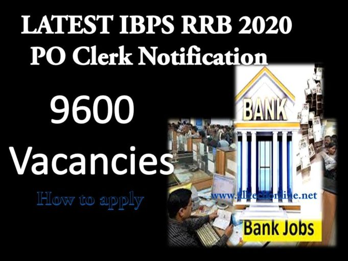 LATEST IBPS RRB 2020 PO Clerk Notification -2020