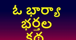Husband Wife Story in Telugu 2020