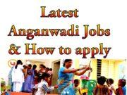 Latest Anganwadi Jobs in 2020 apply