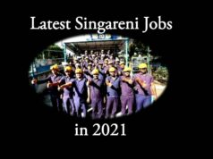 Latest Singareni Jobs in 2021