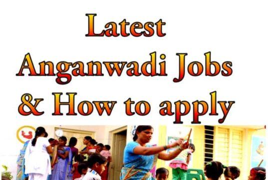 Latest Anganwadi Jobs in 2021 Telangana