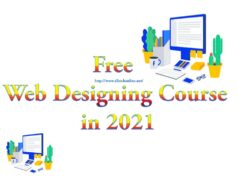 Free Web Designing Course in 2021
