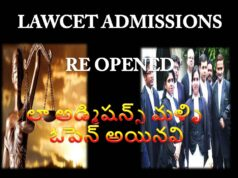 LAWCET 2ND Time Chance in 2021