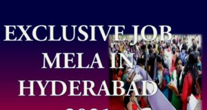 Latest Job Mela in Hyderabad 2021