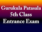 Gurukula patashala 5th Class Entrace Exam 2021