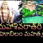 MahaShivarathri Ahobila Mahathwam in Telugu