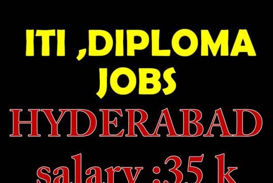 NMDC ITI DIPLOMA JOBS in Hyderabad
