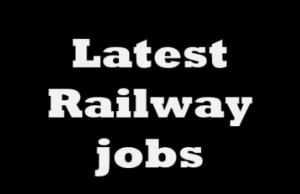 Railway jobs in 2021