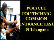 POLYCET Polytechnic 2021 IN Telangana
