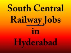 South Central Railway Jobs in Hyderabad