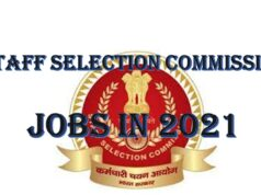 Staff Selection Commission jobs in 2021