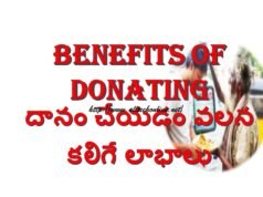 Daanam Cheyadam Valla Kalige Punyalu in Telugu