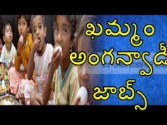 Khammam Anganwadi jobs Download pdf