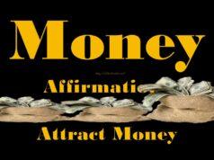 Money Affirmations Attract Money in Telugu