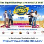 The BIG Billion Days are Back sale 2021